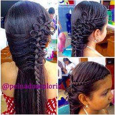 Bello #tbt de #colorin #peluqueria #braid #braids #braidforgirls #braidsforgirls #girl #girls #trenza #treccia #tresses #cucuta