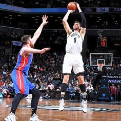 Final score tonight in Brooklyn: Pistons take it 105-100 over the Nets. — at Barclays Center. 2/1/2016