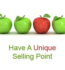 1 discuss the unique selling point of In other words, you need a unique selling point how can you come up with your unique selling point / proposition (usp) here are 5 tips to help you out 1.