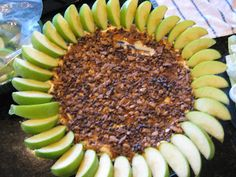 Was a hit at the Superbowl party we attended this year! - Fake-It Frugal: Caramel Apple Cheesecake Dessert Dip