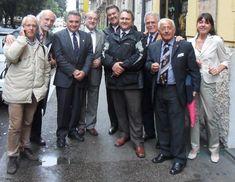Raimondo VILLANO con: Ernesto CARPINTIERI, Carmen SEIDEL, Davide BERNARDINI,  Evaldo CAVALLARO e Ugo MAINOLFI (AEREC lunch, Roma, Parioli, 30 marzo 2011);