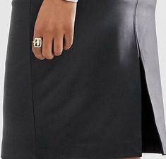 Mango - Jupe fourreau imitation cuir - Noir | ASOS Asos, Fashion, Black Leather, Accessories, Moda, Fasion, Trendy Fashion, La Mode