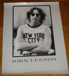 Julian Lennon, John Lennon Beatles, The Beatles, Beatles Poster, Yoko Ono, New York City, Bob, Mint, Posters
