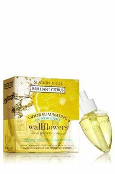 Bath & Body Works Odor Eliminating Wallflower Home Fragrance Refill, Brilliant Citrus by Bath & Body Works. $10.99. BRILLIANT CITRUS Bath & Body Works WALLFLOWER REFILL BULBS 2
