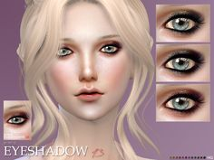 new eye shadow for you 12 colors custom thumbnail HQ compatible  Found in TSR Category 'Sims 4 Female Eyeshadow'