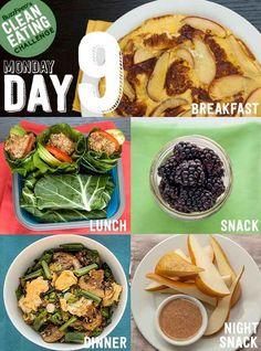 Day 9 Clean eating plan