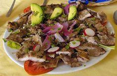"""Traditional Yucatecan dish """"PocChuc #Yucatan #Merida #UBELONGMexico"""