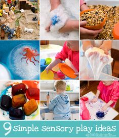 9 of our favourite, simple, sensory play ideas - from picklebums.com