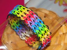 triple single rainbow loom bracelet on etsy | cool mom picks