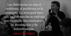 """N&A: Silvia Federici: """"Las diferencias no son el problema, el problema es la jerarquía"""""""