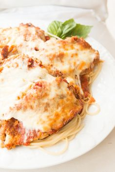 Quick and easy balsamic and caramelized onion chicken parmesan ohsweetbasil.com