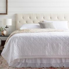 online shopping for Cy Upholstered Panel Headboard Andover Mills from top store. See new offer for Cy Upholstered Panel Headboard Andover Mills Cream Headboard, Cal King Headboard, Headboard Cover, Full Headboard, Panel Headboard, Tufted Headboards, Headboard Ideas, Nyc, Adjustable Beds