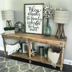 Cool 59 Best Farmhouse Living Room Makeover Decor Ideas. More at https://trendecorist.com/2018/03/04/59-best-farmhouse-living-room-makeover-decor-ideas/