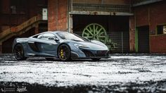 """sssupersports: """" Edo McLaren 675LT by Lennard Laar Photography. MORE [+] """""""