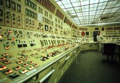MaryLand Nuclear Power Station Control Room