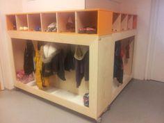 Mobiele garderobe