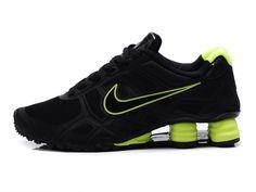 aa18fdf79d43d9 Nike Shox -Turbo12 Men Black Lemon Green Shoes Nike Shox Turbo 12 running  shoe utilize
