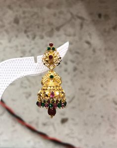 Gold Ring Designs, Gold Earrings Designs, Gold Jewellery Design, Necklace Designs, Small Necklace, Gold Necklace, Gold Buttalu, Gold Earrings For Women, Lord Balaji