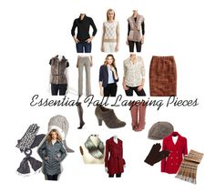 how to layer clothes for fall | First Row: Cowl neck Sweater | Crewneck Sweater | Sweater Vest