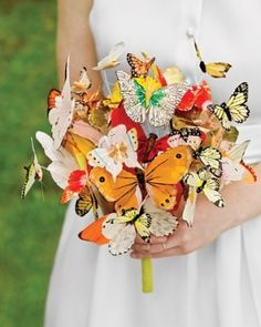 butterfly bouquet by Italiandipity