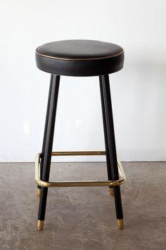 Stool at Hub Furniture Bar Table And Stools, Bar Chairs, Counter Stools, Island Chairs, Love Chair, High Stool, Wall Finishes, Bar Tabureleri, Home