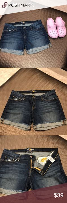 bd958c897436 Lucky Brand Denim Shorts Lucky Brand distressed Riley Shorts