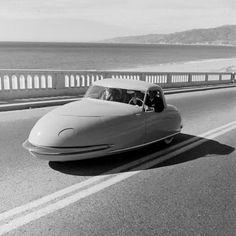 1940's Davis 3-wheeler