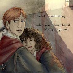 Ron and Hermione - romione Fan Art