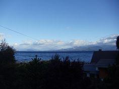 Bariloche.Desde ventana hotel, Lago Nahuel Huapi.