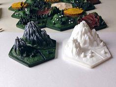 Custom 3D Settlers of Catan by Calder Kibyuk Designs