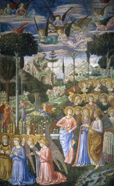 Bild: Benozzo Gozzoli - Engel , Pal.Medici-Ricc