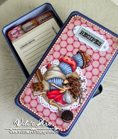 Hello Everyone!I made today's Recipe Box, using Cupcake Thieffrom Mo's Digital Pencil.More details you can see here. Have a lovely day and thanks for stopping by!Hugs, Vili xxxx
