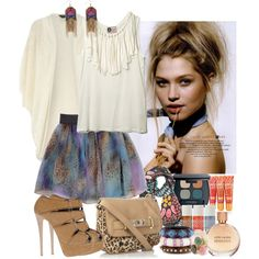 """Glamour leopard"" by sharpaytisdale on Polyvore"