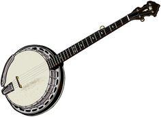 楽器の画像:5弦バンジョー。バンジョーのまとめ