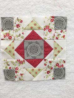 Block 24 of The Splendid Sampler quilt