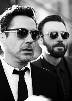 thehulk: Robert Downey Jr and Chris Evans at The World Premiere of Marvel's 'Captain America: Civil War' at Dolby Theatre on April 12, 2016 in Los Angeles, California.