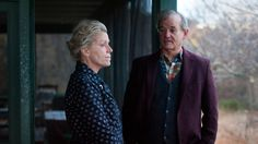 "Frances McDormand and Bill Murray in the HBO mini-series ""Olive Kitteridge"""