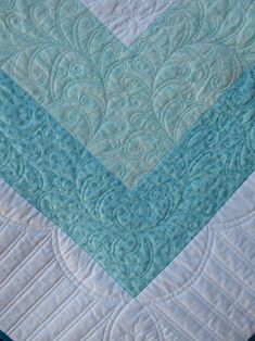 Border quilting on a domestic sewing machine by Emma How at Sampaguita Quilts