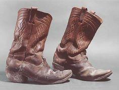 Haye's Cowboy Boots  1973  14 x 12.5 x 5 inches each Marilyn Levine http://www.marilynlevine.com/artworkframeset.html