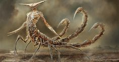 12 Zodiac Signs Reborn As Terrifying Monsters By Damon Hellandbrand | Bored Panda || fucking amazing.