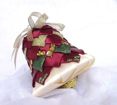 Christmas ornament hanging ornament holidays by TheRainbowCrafts, €10.00