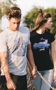 Grab your best friend and explore some more! Our new shirts are perfect for fall & adventuring :) #Sevenly