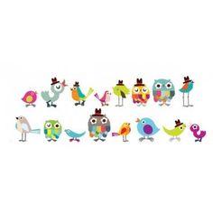 Pop & Lolli Tweetie Birdies --to be used in conjunction with Tree & Branch decals
