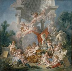 """François Boucher """"Amors Zielscheibe"""""""