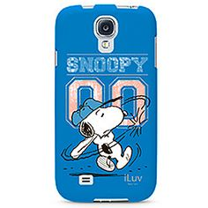 #Iluv #Snoopy Hard Shell Case for Samsung Galaxy S 4, Snoopy Baseball Blue SS4SNOOBL in Samsung Galaxy S 4 Protector Cases $29.99 From #DayDeal