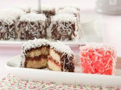 Receita Lamington Cake Sandra Peres