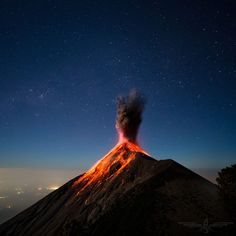 Volcano Fuego Guatemala Photo by Andrew Shepard — National Geographic Your Shot