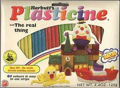 Didn't smell as good as Play Doh :( Plasticine. Didn't smell as good as Play Doh :( Plas 1970s Childhood, My Childhood Memories, Retro Vintage, Vintage Toys 1970s, 1970s Toys, Vintage Vogue, Vintage Stuff, Retro Toys, My Memory