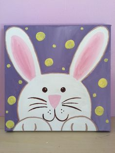 Celebrate Spring with our next Family Canvas Painting!  Saturday, April 4, 2015 at 4:30pm! #TheArtGarage #CanvasPainting #FamilyFun #AustinCanvasPainting