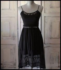 Little Black Dress By Mudd size XS #Mudd #Sundress #Casual